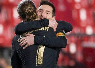 Barcelona giành chiến thắng với sự tỏa sáng của Messi