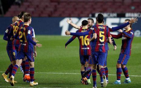 Barcelona vật vã vào chung kết trong ngày thiếu vắng Messi