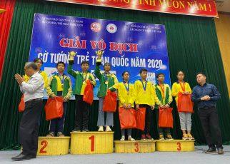 Đoàn TPHCM thắng lớn tại giải cờ Tướng trẻ toàn quốc