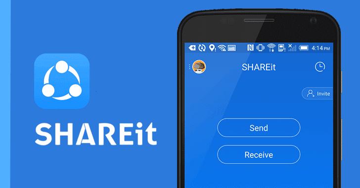 SHAREit ứng dụng chia sẻ dữ liệu không giới hạn