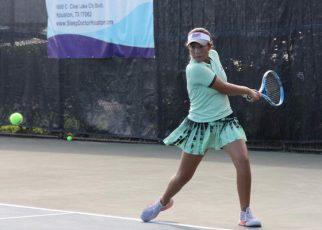 Tài năng trẻ Huỳnh Trần Ngọc Nhi của quần vợt Việt Nam