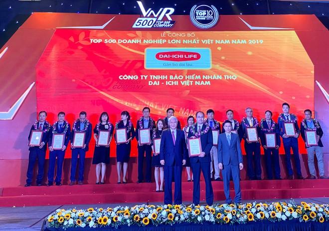 VNR500 năm 2020 xướng tên Dai-ichi Life Việt Nam